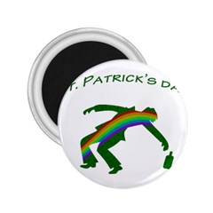 St  Patricks 2 25  Magnets by Valentinaart