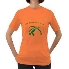 St  Patricks Women s Dark T Shirt by Valentinaart