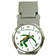 St  Patricks Money Clip Watches by Valentinaart