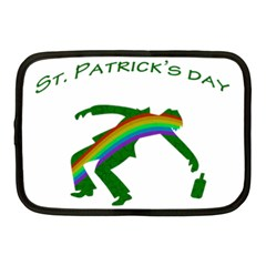 St  Patricks Netbook Case (medium)  by Valentinaart