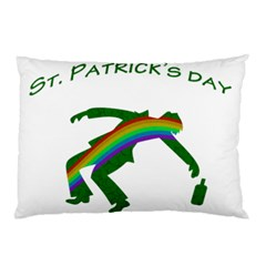 St  Patricks Pillow Case (two Sides) by Valentinaart