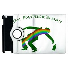 St  Patricks Apple Ipad 2 Flip 360 Case by Valentinaart