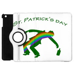 St  Patricks Apple Ipad Mini Flip 360 Case by Valentinaart