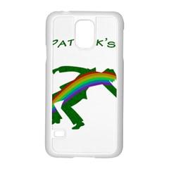 St  Patricks Samsung Galaxy S5 Case (white) by Valentinaart