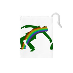 St  Patricks Drawstring Pouches (small)  by Valentinaart