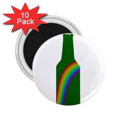St  Patricks 2 25  Magnets (10 Pack)  by Valentinaart