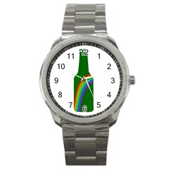 St  Patricks Sport Metal Watch by Valentinaart