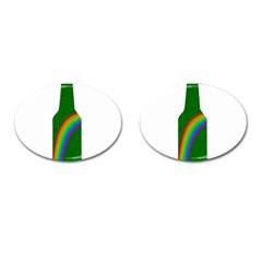 St  Patricks Cufflinks (oval) by Valentinaart