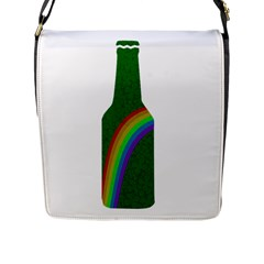 St  Patricks Flap Messenger Bag (l)  by Valentinaart
