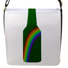 St  Patricks Flap Messenger Bag (s) by Valentinaart
