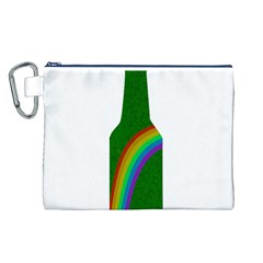 St  Patricks Canvas Cosmetic Bag (l) by Valentinaart