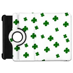 St  Patrick s Clover Pattern Kindle Fire Hd 7  by Valentinaart