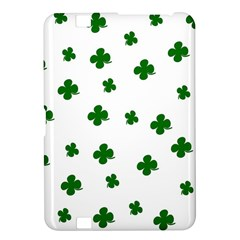 St  Patrick s Clover Pattern Kindle Fire Hd 8 9  by Valentinaart