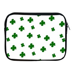St  Patrick s Clover Pattern Apple Ipad 2/3/4 Zipper Cases by Valentinaart
