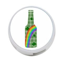 St  Patricks Day   Bottle 4 Port Usb Hub (two Sides)  by Valentinaart
