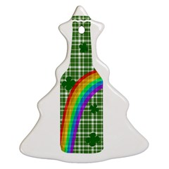 St  Patricks Day   Bottle Ornament (christmas Tree)  by Valentinaart