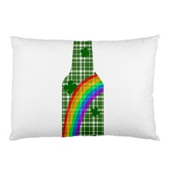 St  Patricks Day   Bottle Pillow Case (two Sides) by Valentinaart