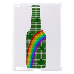 St. Patricks day - Bottle Apple iPad 3/4 Hardshell Case (Compatible with Smart Cover)