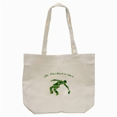 St  Patrick s Day Tote Bag (cream) by Valentinaart