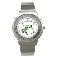 St  Patrick s Day Stainless Steel Watch by Valentinaart