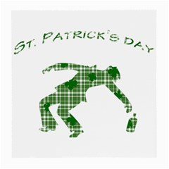 St  Patrick s Day Medium Glasses Cloth (2 Side) by Valentinaart