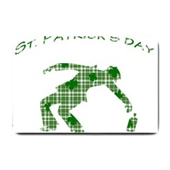 St  Patrick s Day Small Doormat  by Valentinaart