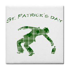 St  Patrick s Day Face Towel by Valentinaart