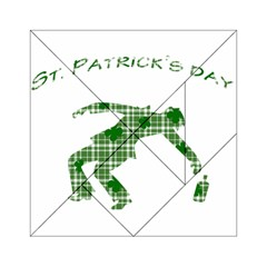 St  Patrick s Day Acrylic Tangram Puzzle (6  X 6 ) by Valentinaart