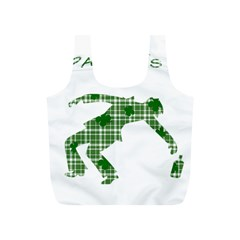 St  Patrick s Day Full Print Recycle Bags (s)  by Valentinaart