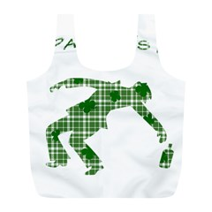 St  Patrick s Day Full Print Recycle Bags (l)  by Valentinaart