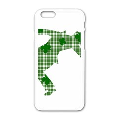 St  Patrick s Day Apple Iphone 6/6s White Enamel Case by Valentinaart