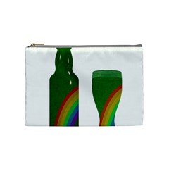 St  Patrick s Day Cosmetic Bag (medium)  by Valentinaart