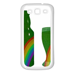 St  Patrick s Day Samsung Galaxy S3 Back Case (white) by Valentinaart