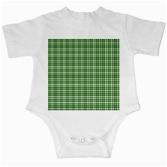 St  Patricks Day Plaid Pattern Infant Creepers by Valentinaart