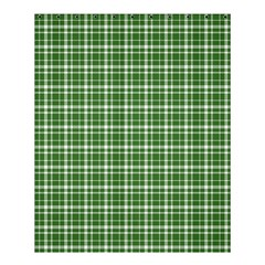 St  Patricks Day Plaid Pattern Shower Curtain 60  X 72  (medium)  by Valentinaart