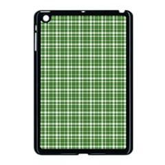 St  Patricks Day Plaid Pattern Apple Ipad Mini Case (black) by Valentinaart