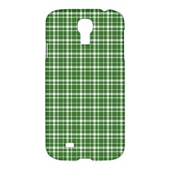 St  Patricks Day Plaid Pattern Samsung Galaxy S4 I9500/i9505 Hardshell Case by Valentinaart
