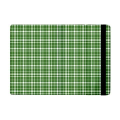 St  Patricks Day Plaid Pattern Ipad Mini 2 Flip Cases by Valentinaart