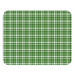 St. Patricks day plaid pattern Double Sided Flano Blanket (Large)   Blanket Back