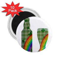 St  Patrick s Day 2 25  Magnets (10 Pack)  by Valentinaart