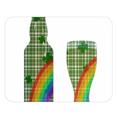 St  Patrick s Day Double Sided Flano Blanket (large)  by Valentinaart