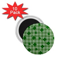 St  Patrick s Day Pattern 1 75  Magnets (10 Pack)  by Valentinaart