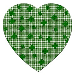 St  Patrick s Day Pattern Jigsaw Puzzle (heart) by Valentinaart