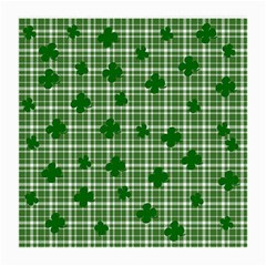 St  Patrick s Day Pattern Medium Glasses Cloth (2 Side) by Valentinaart