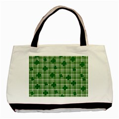 St  Patrick s Day Pattern Basic Tote Bag (two Sides) by Valentinaart