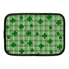 St  Patrick s Day Pattern Netbook Case (medium)  by Valentinaart