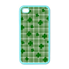 St  Patrick s Day Pattern Apple Iphone 4 Case (color) by Valentinaart