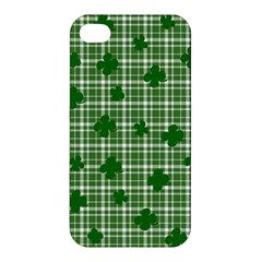 St  Patrick s Day Pattern Apple Iphone 4/4s Premium Hardshell Case by Valentinaart