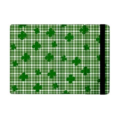 St  Patrick s Day Pattern Apple Ipad Mini Flip Case by Valentinaart