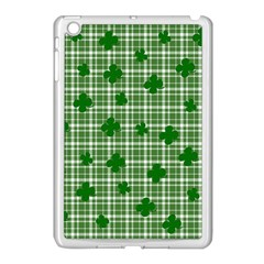 St  Patrick s Day Pattern Apple Ipad Mini Case (white) by Valentinaart